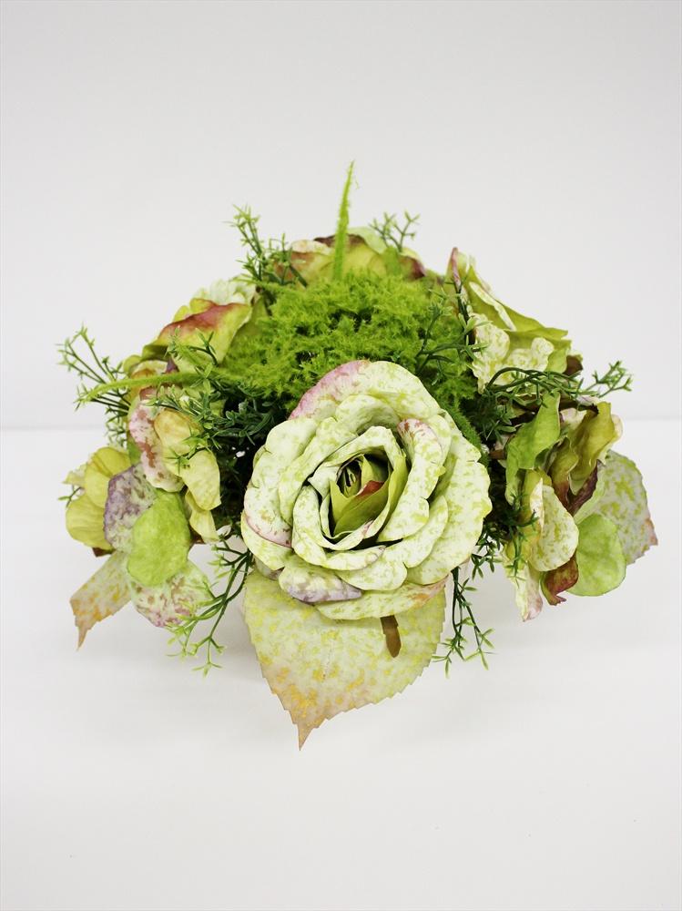 цены Искусственные цветы Coneko K7025, светло-зеленый, кремовый