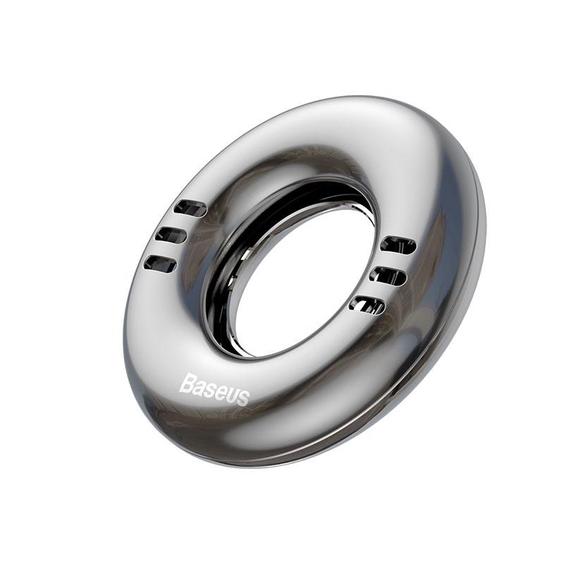 Автомобильный ароматизатор Baseus SUXUN-QQ0S, серебристый ароматизатор эрвик