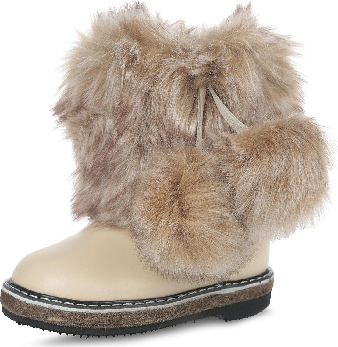 Унты 4U manitobah унты snowy owl mukluk женские коричневый
