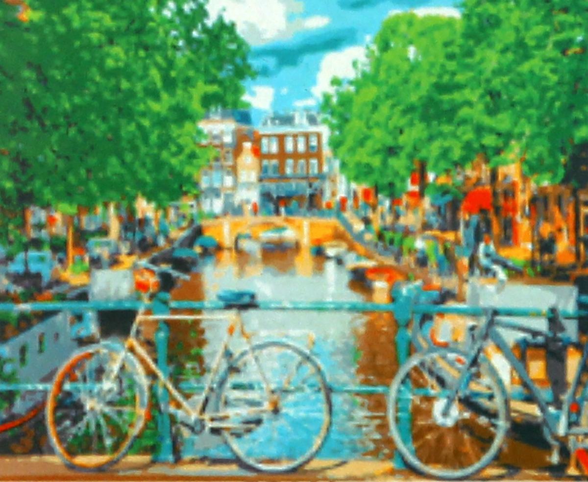 Фото - Набор для живописи Рыжий кот Канал в Амстердаме, 50 х 40 см набор для живописи рыжий кот лошадь и кот в цветах 50 х 40 см