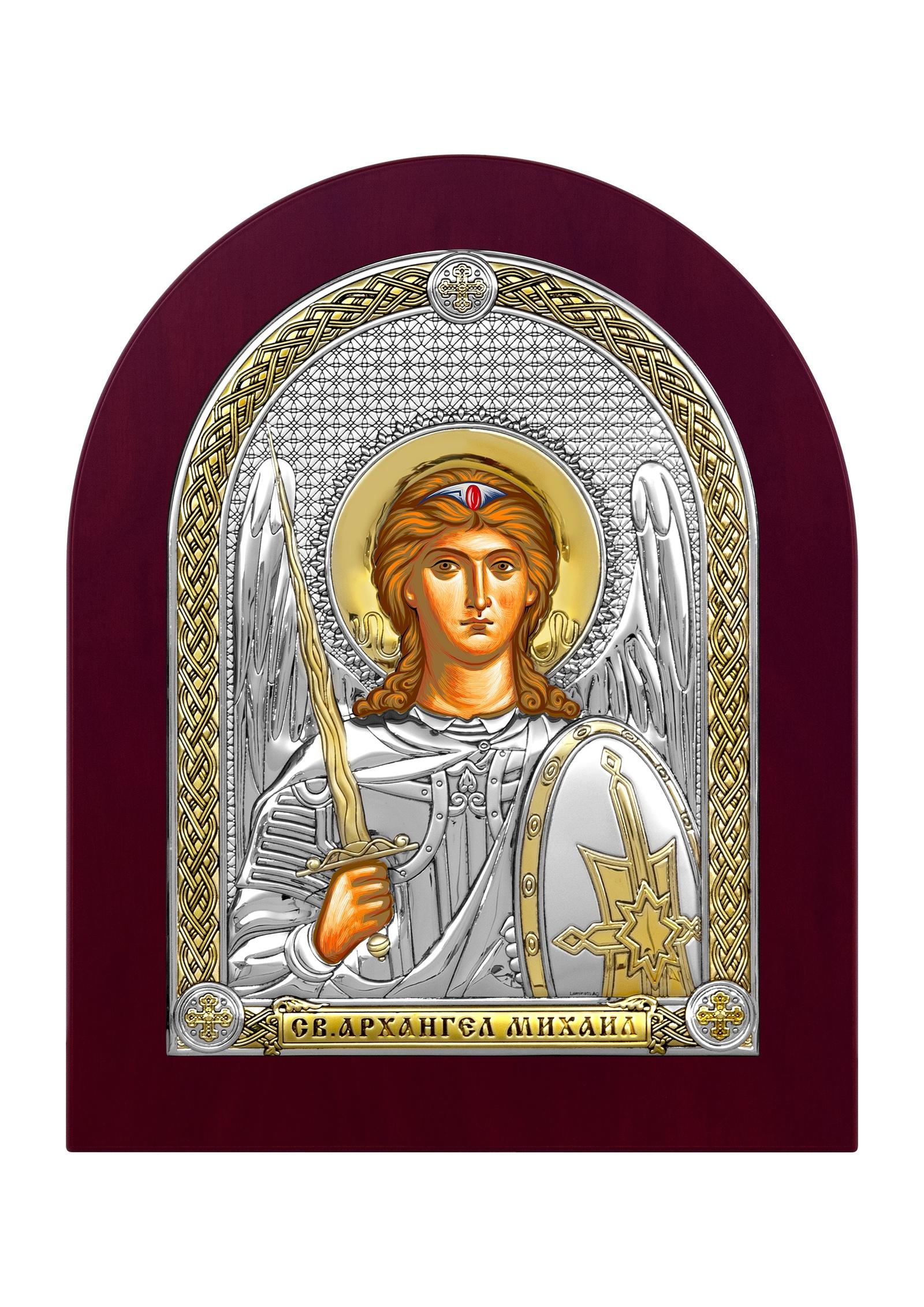 Икона Beltrami 6444 посеребренная россия икона архангел михаил