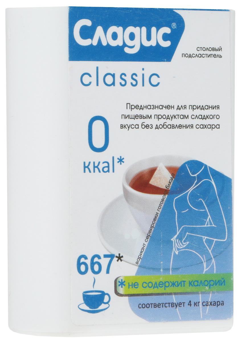 Сахарозаменитель Сладис, 667 таблеток, 41,4 г