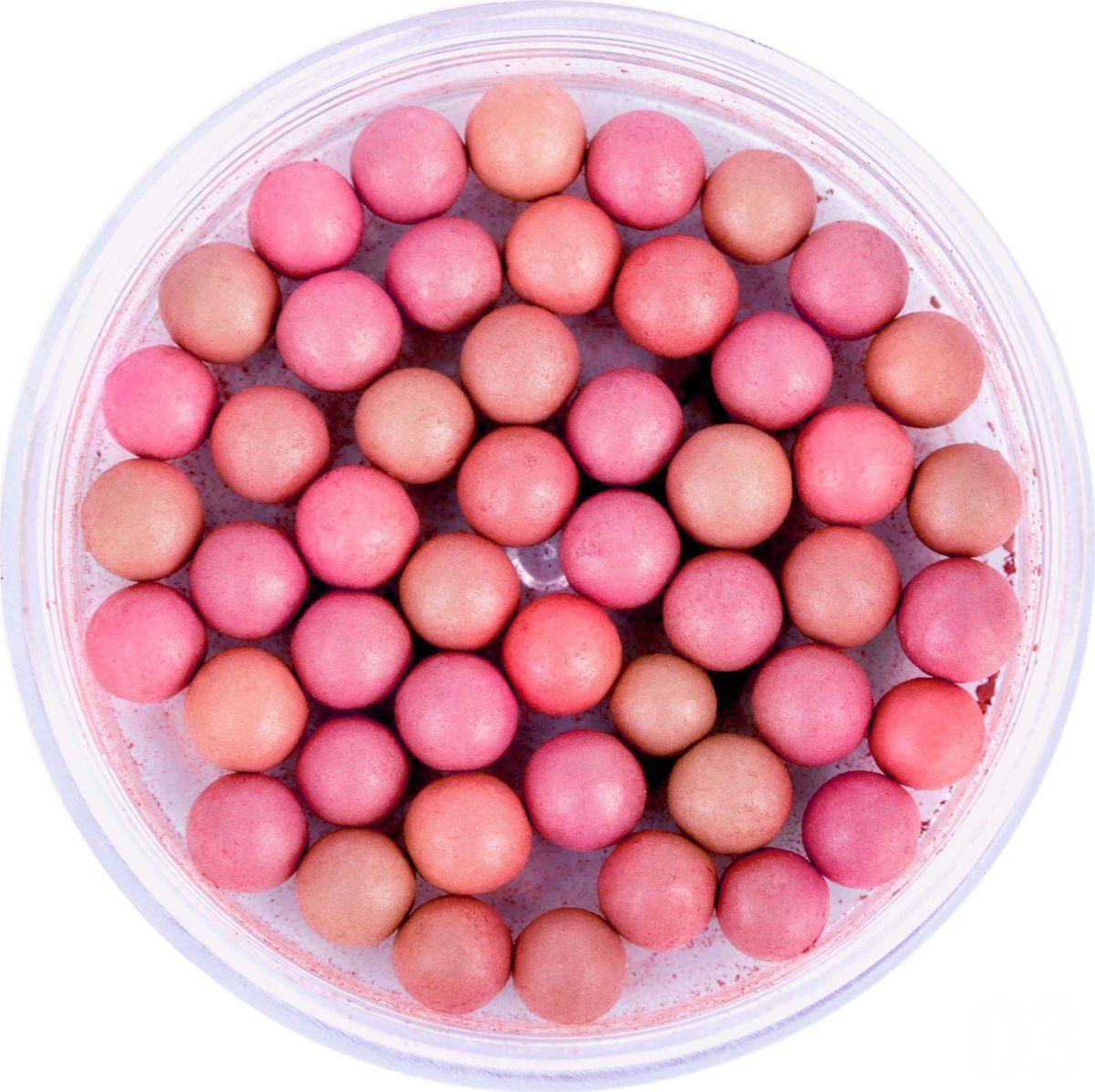 Румяна шариковые Parisa B-04, № 03 Натурально-розовый микс, 10 г