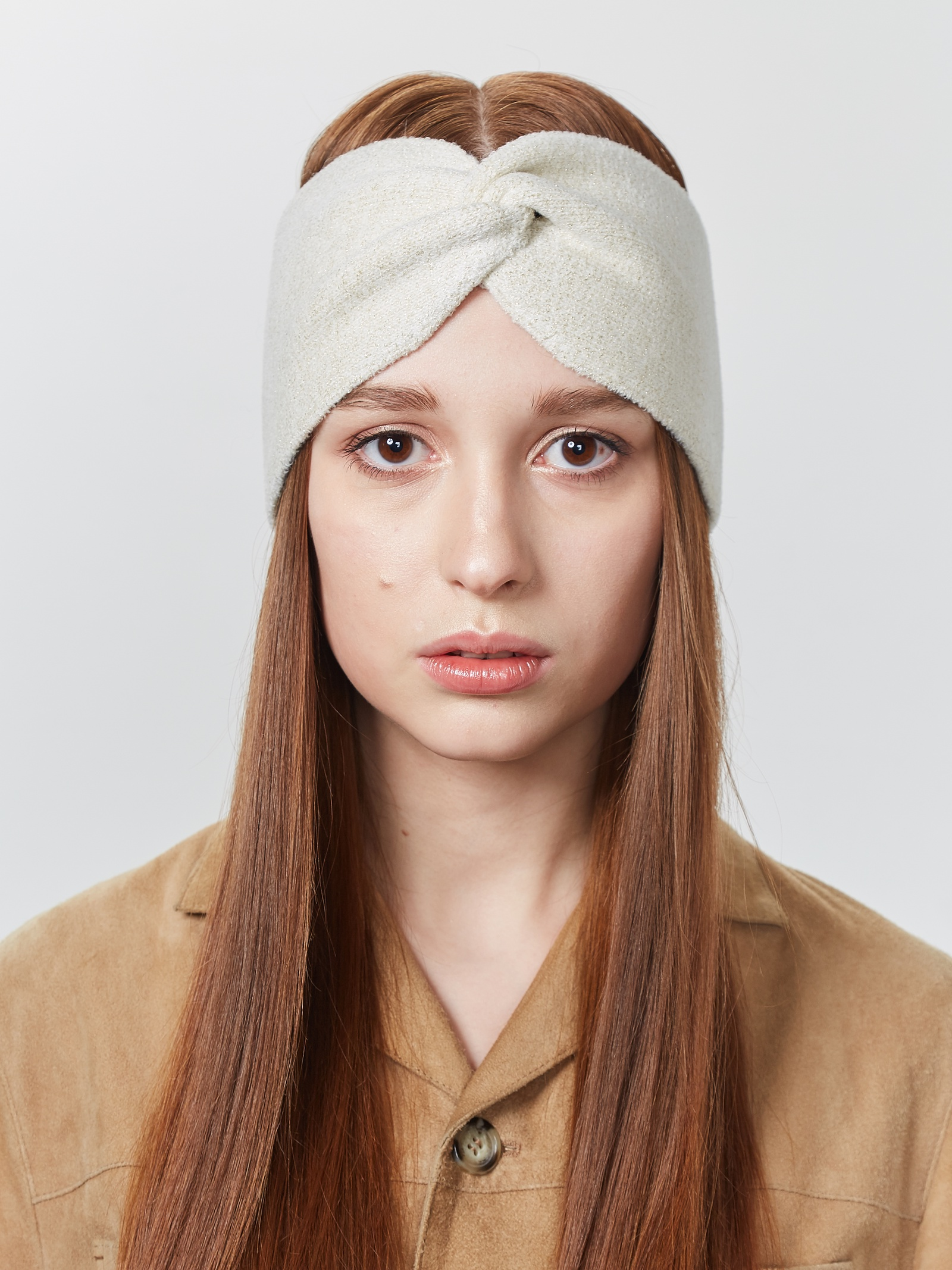 Повязка на голову FortiKnitwear берет fortiknitwear оранжевый медь 56 58 размер