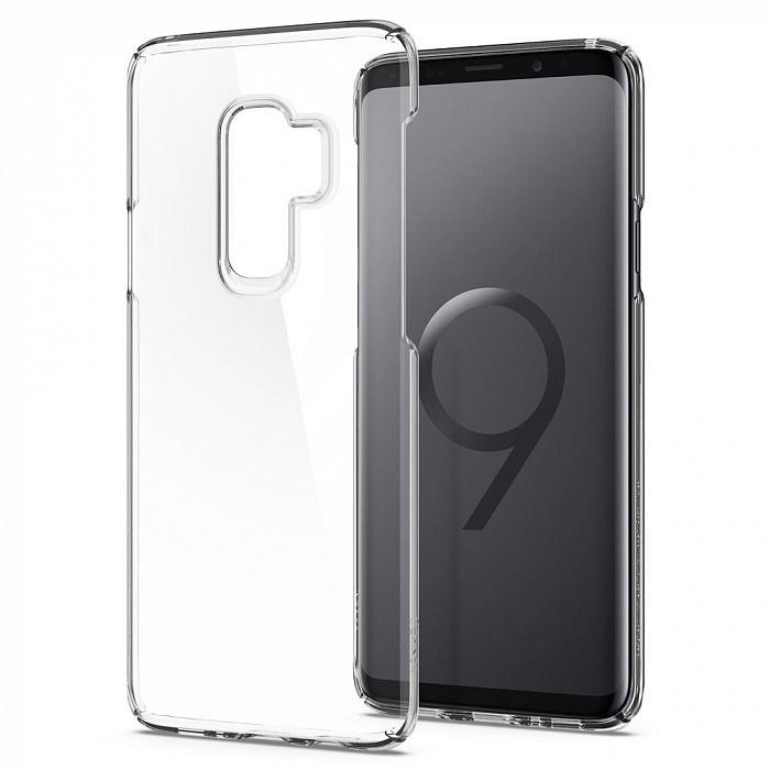 Чехол для сотового телефона SGP Thin Fit (593CS22961) для Samsung Galaxy S9 Plus, прозрачный