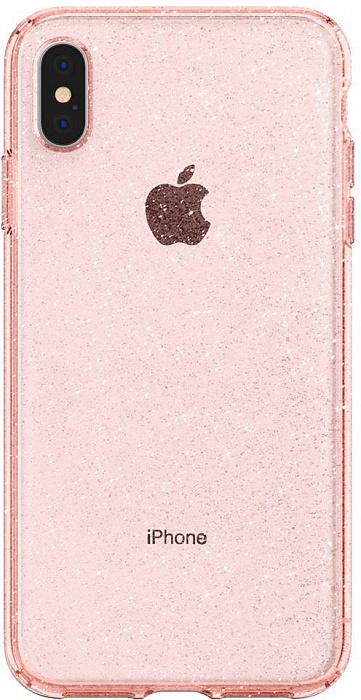 Чехол для сотового телефона SGP Liquid Crystal Glitter (065CS25124) для iPhone Xs Max, розовый nail art tips crystal glitter rhinestone decoration