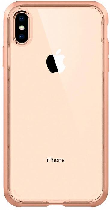 Чехол для сотового телефона SGP Neo Hybrid Crystal (065CS25354) для iPhone XS Max, розовый аксессуар чехол spigen sgp neo hybrid metal series для iphone 6 plus 5 5 inch champagne sgp11071