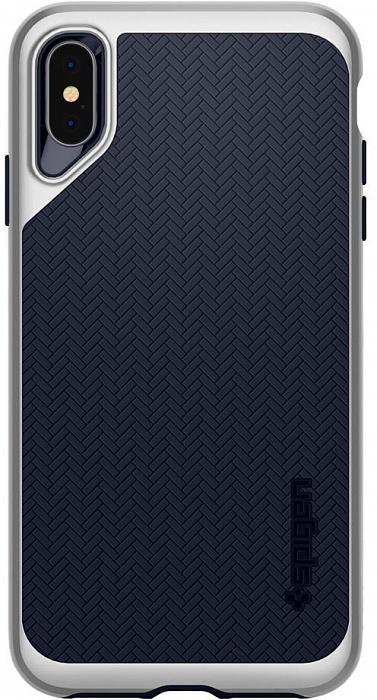 Чехол для сотового телефона SGP Neo Hybrid (065CS24840) для iPhone XS Max, серебристый аксессуар чехол spigen sgp neo hybrid metal series для iphone 6 plus 5 5 inch champagne sgp11071