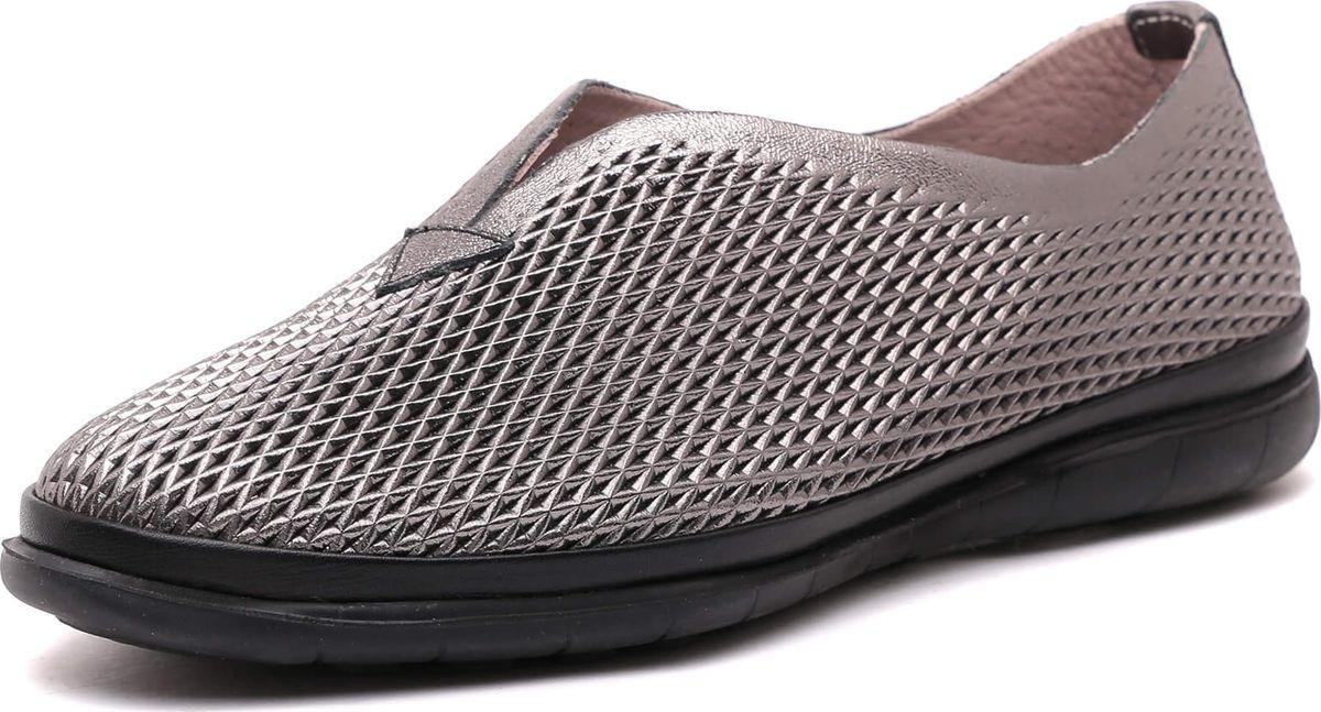 Туфли женские Vitacci, цвет: графитовый. 1281094. Размер 361281094