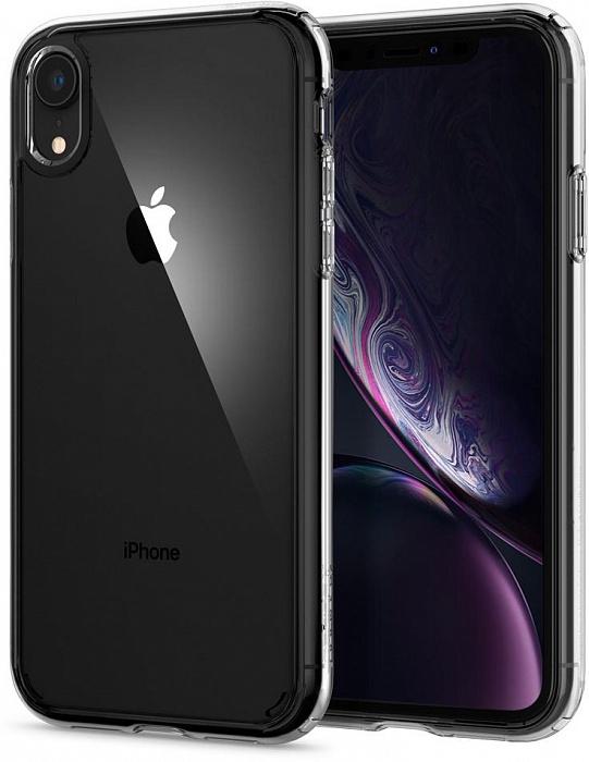 Чехол для сотового телефона SGP Ultra Hybrid (064CS24874) для iPhone XR, черный цены онлайн