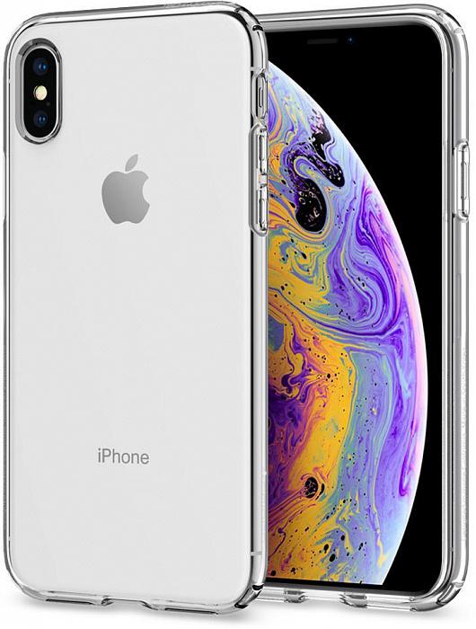 Чехол для сотового телефона SGP Liquid Crystal (063CS25110) для iPhone X/Xs, прозрачный sva liquid crystal lt3232 main board 5800 a8m61a m010 screen lc320wxn