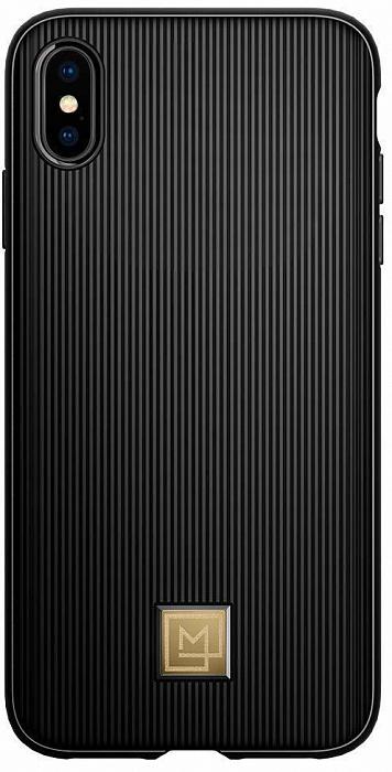 Чехол для сотового телефона SGP La Manon Classy (065CS24958) для iPhone Xs Max, черный чехол для apple iphone xs max sgp la manon calin черный