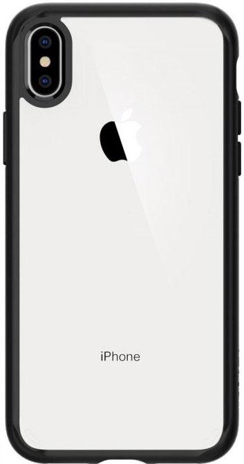 Чехол для сотового телефона SGP Ultra Hybrid (065CS25128) для iPhone Xs Max, черный цены онлайн