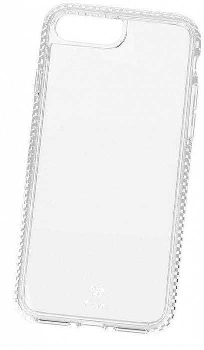 Чехол для сотового телефона Baseus Polychrome Case (WIAPIPH7P-LC02) для iPhone 7 Plus, прозрачный baseus guards case tpu tpe cover for iphone 7 red
