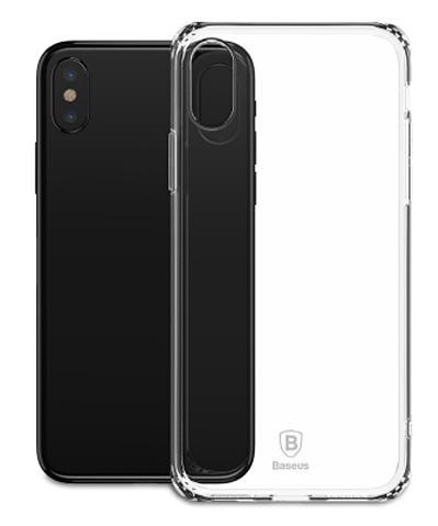 Чехол для сотового телефона  Simple Series Anti-Fall (ARAPIPHX-C02) для Apple iPhone X, прозрачный