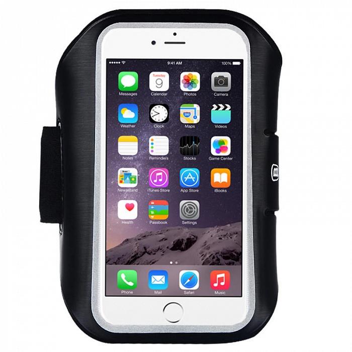 Чехол для сотового телефона Baseus Sports Armband для iPhone 6/6S, черный