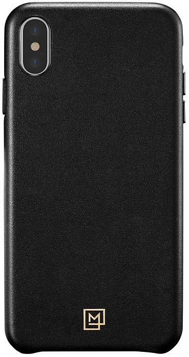 Чехол для сотового телефона SGP La Manon Calin (063CS25321) для iPhone Xs/X, черный чехол для apple iphone xs max sgp la manon calin черный