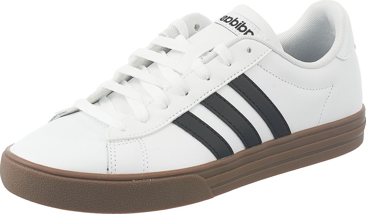 Кроссовки мужские Adidas Daily 2.0, цвет: белый. F34469. Размер 8,5 (41)F34469
