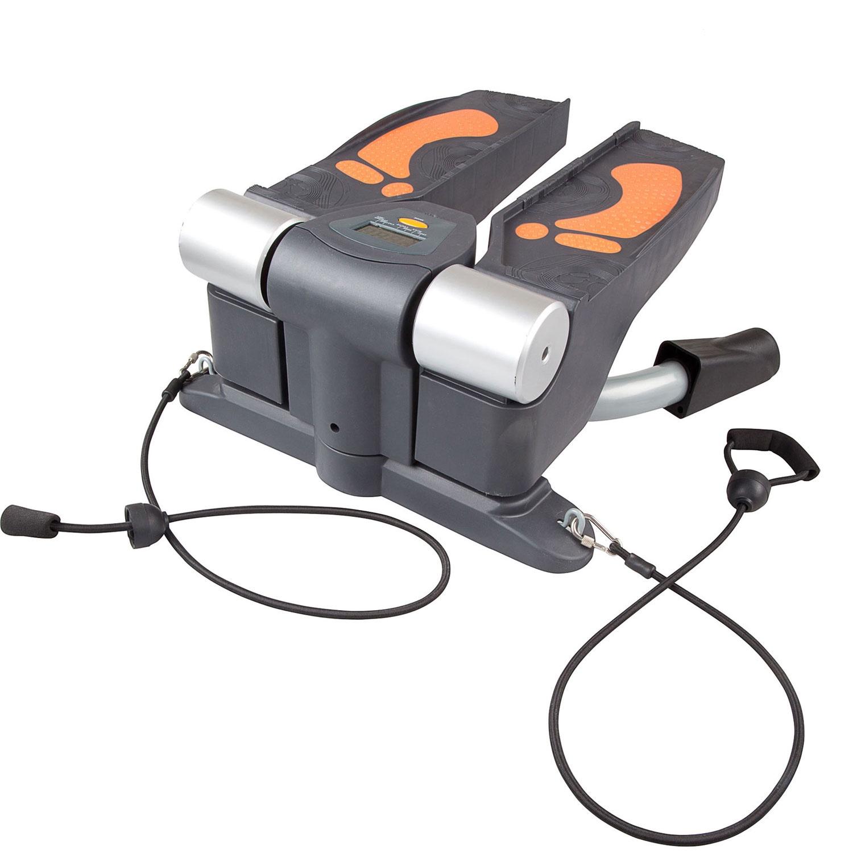 Мини-степпер DFC поворотный, черный, серебристый, оранжевый все цены