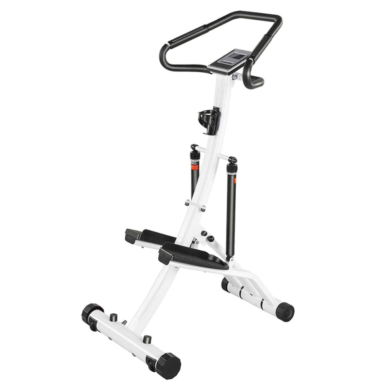 Степпер DFC для укрепления мышц ног, белый, черный держатель интерьерный s039