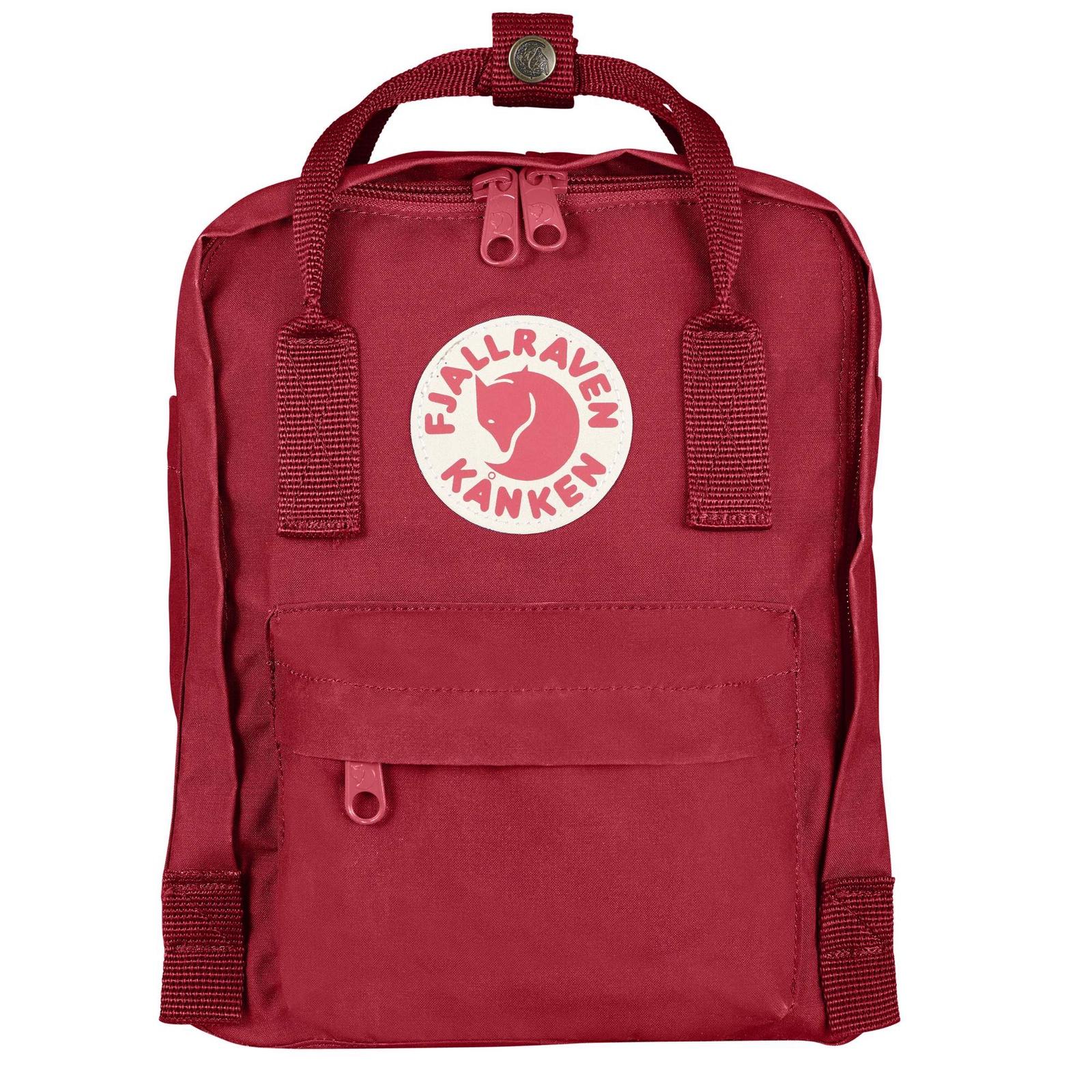 Рюкзак Fjallraven Kanken Mini 325, красный цена и фото