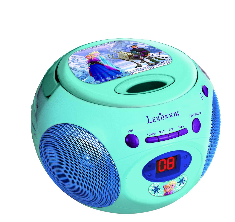 CD-проигрыватель Lexibook Холодное сердце, голубой