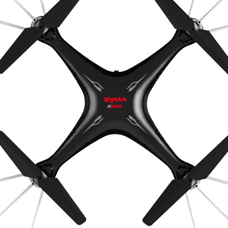 Квадрокоптер Syma X5SC RTF 2. 4GHz, 1451, чёрный Syma