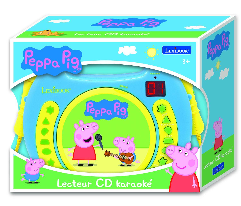 CD-проигрыватель Lexibook Свинка Пеппа, бирюзовый Lexibook