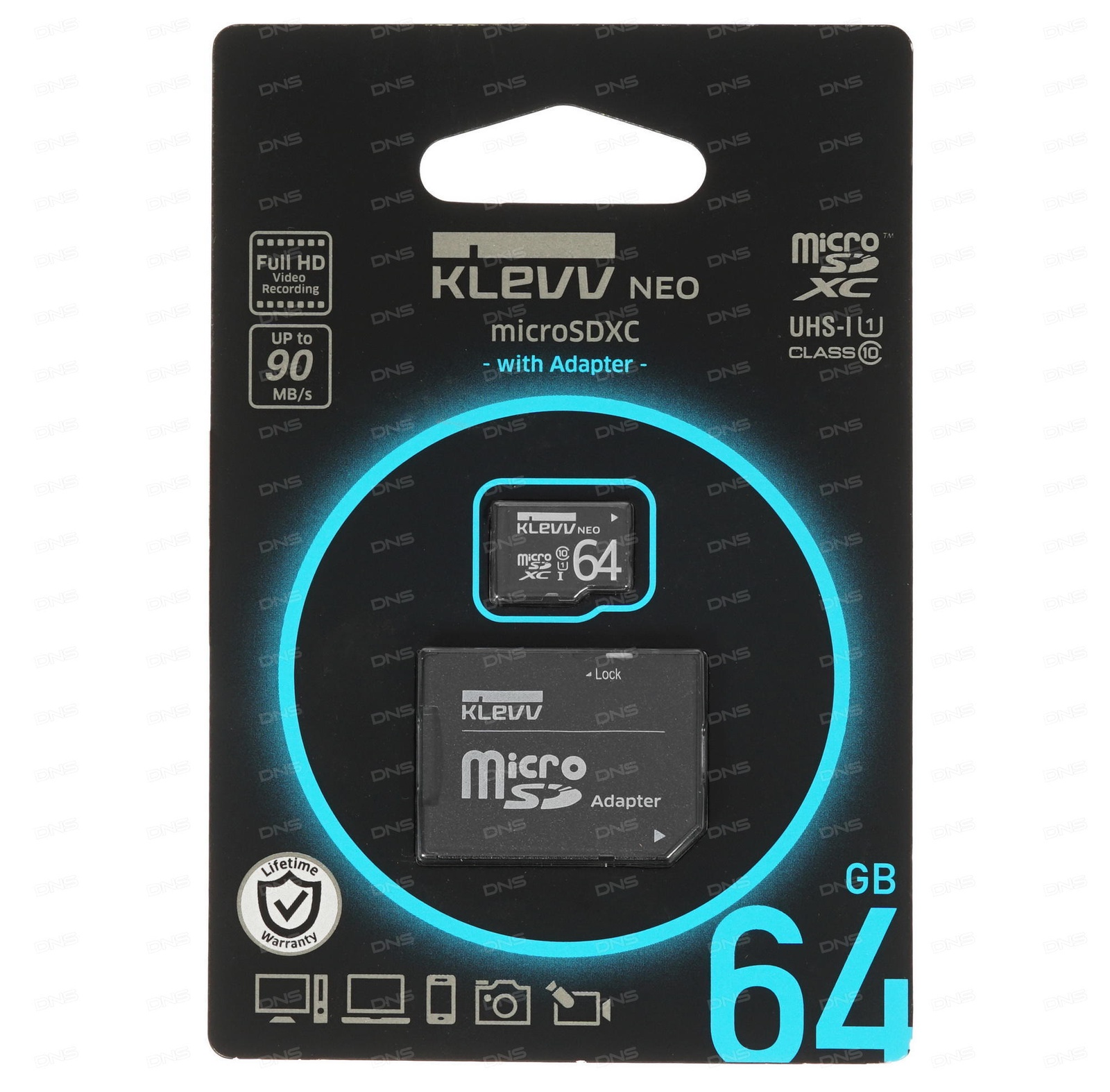 Карта памяти KLEEV KLV-U064GUC1U18-DK карта памяти это внешняя или внутренняя