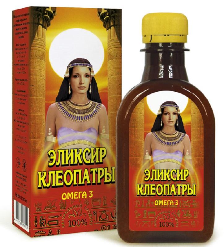 Масло Льняное Компас Здоровья Эликсир Клеопатры, 0,2 л масло льняное компас здоровья сибирское 0 2 л