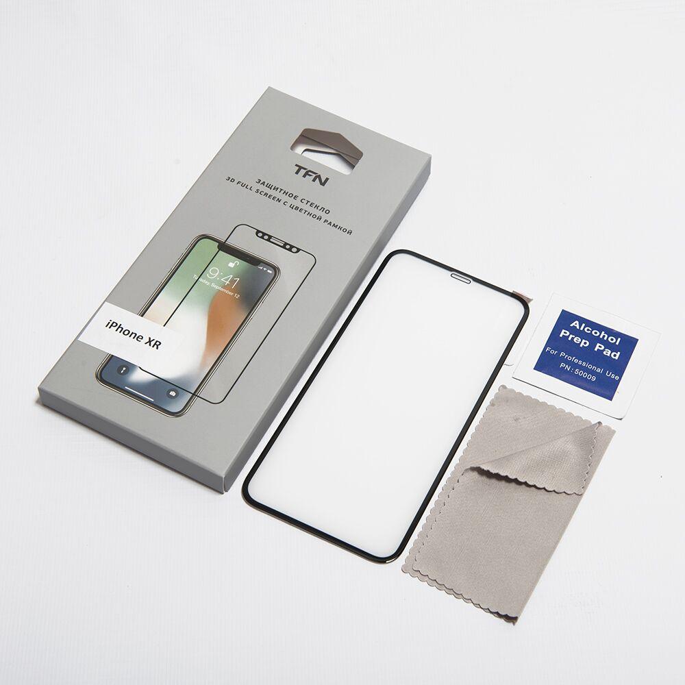 Фото - Защитное стекло TFN TFN-SP-07-010G3B защитное стекло pero 3d для iphone xr чёрное