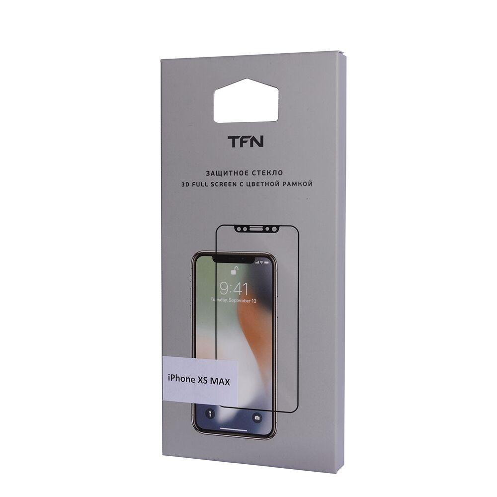 Защитное стекло TFN TFN-SP-07-011G3B защитное стекло для iphone xs onext изогнутое по форме дисплея с черной рамкой