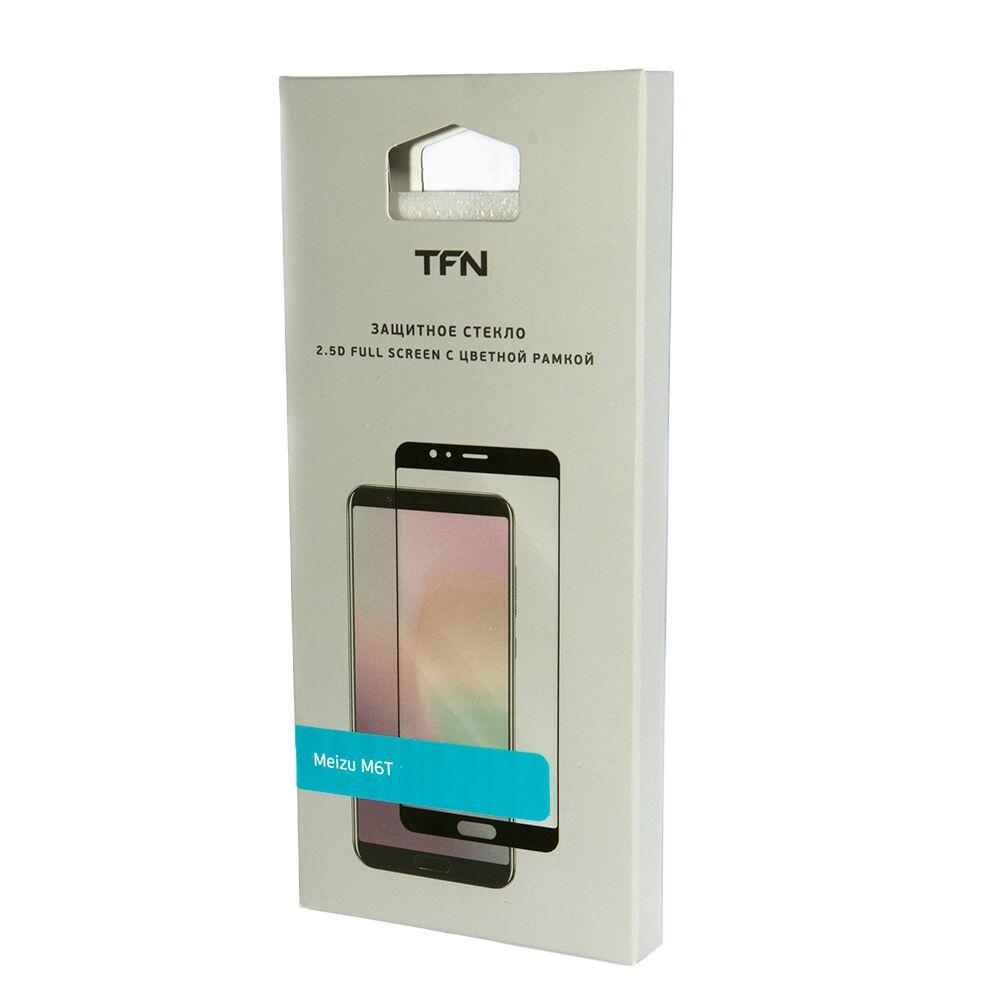 Защитное стекло TFN TFN-SP-08-024G2B защитное стекло для meizu m6s onext на весь экран с черной рамкой
