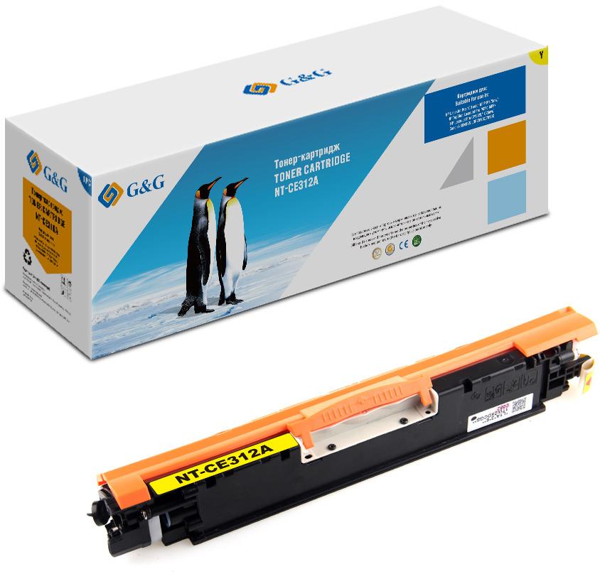 Картридж G&G NT-CE312A, желтый, для лазерного принтера цена в Москве и Питере