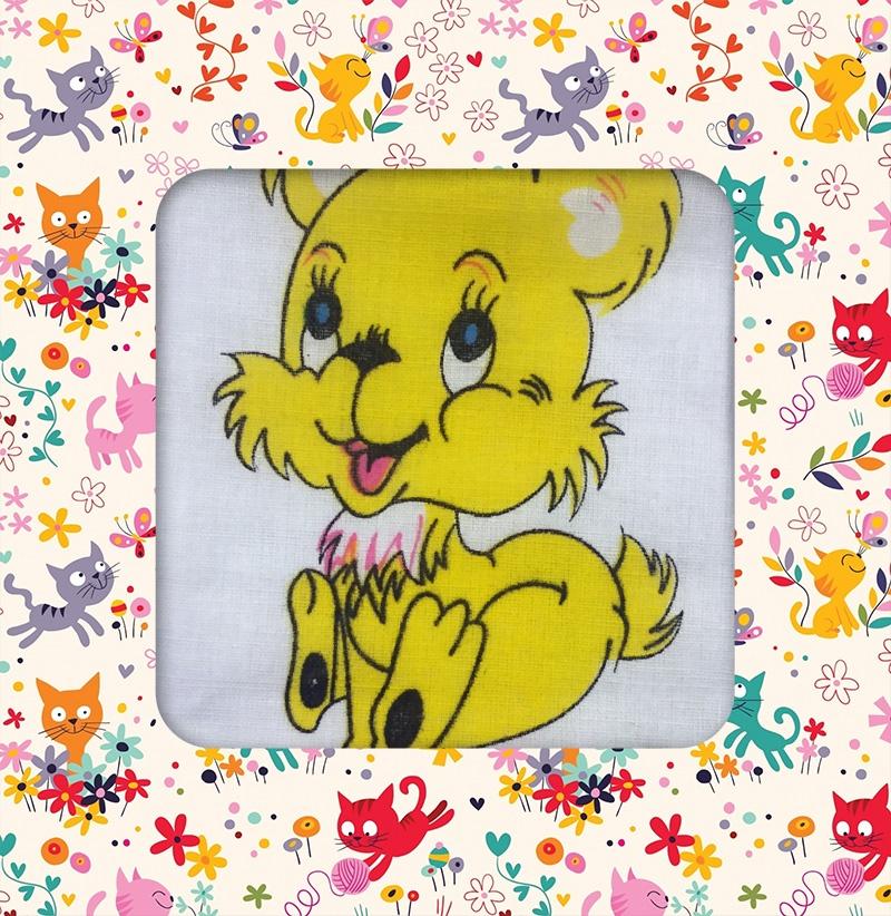Носовой платок Etteggy белый, желтый, синий, белый, желтый, синий бризрайт полоски для расширения носовых ходов 30 телесные