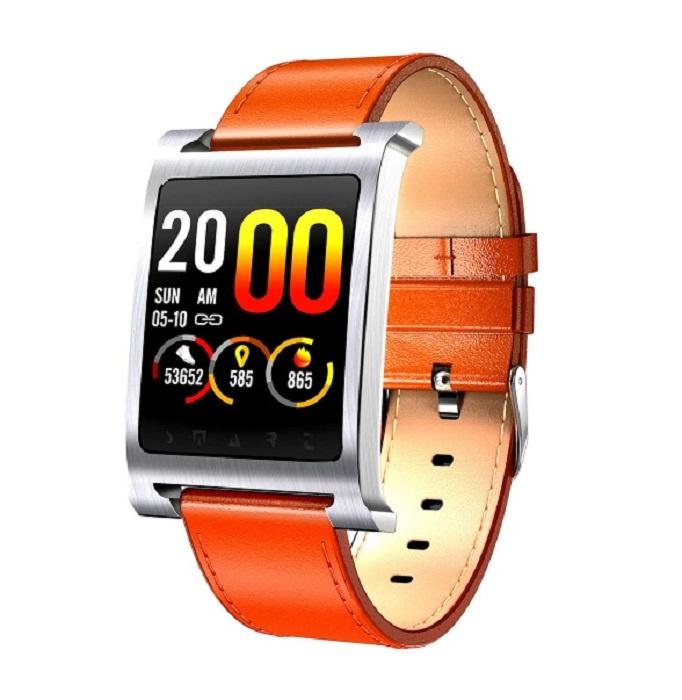 Фитнес-браслет ZDK K6, серебристый, коричнево-красный, бежевый умный фитнес браслет zdk f3 3393 черно красный page 3 page 3