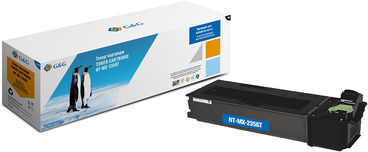 Картридж G&G NT-MX-235GT, черный, для лазерного принтера цена 2017