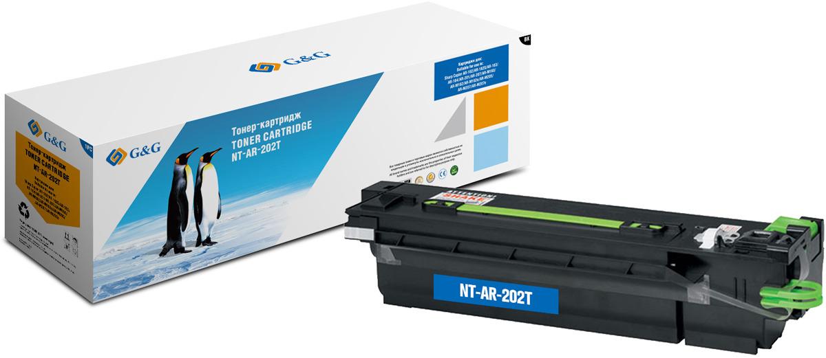 Картридж G&G NT-AR-202T, черный, для лазерного принтера цена 2017