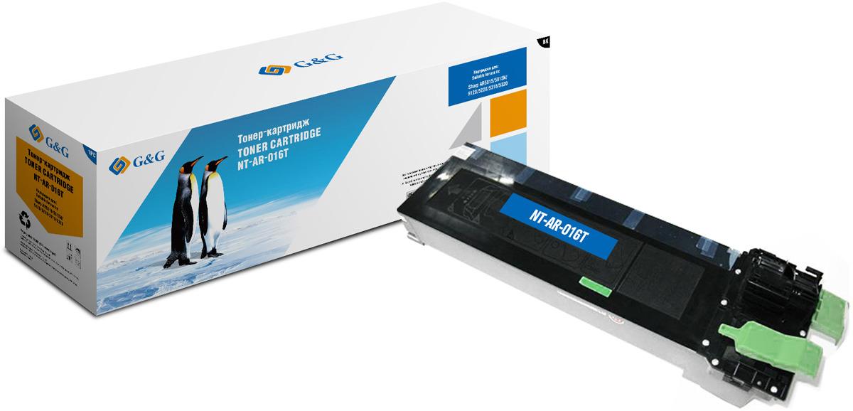 Картридж G&G NT-AR-016T, черный, для лазерного принтера цена 2017