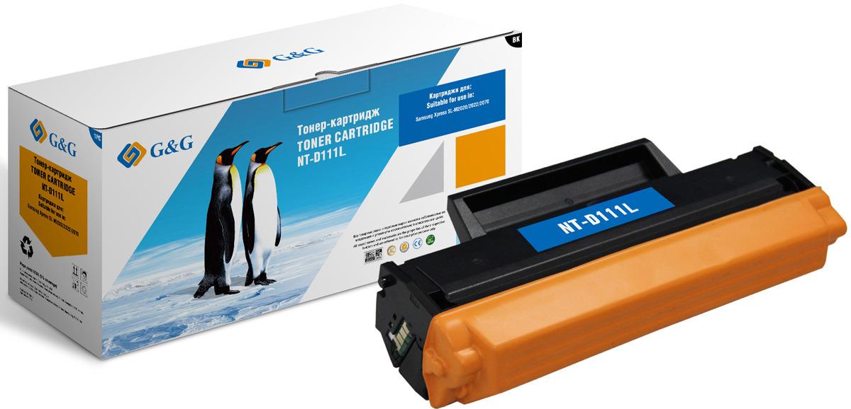 Картридж G&G NT-D111L, черный, для лазерного принтера велосипед focus culebro sl 1 0 20 g 30 g 2013