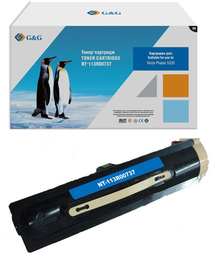 Картридж G&G NT-113R00737, черный, для лазерного принтера