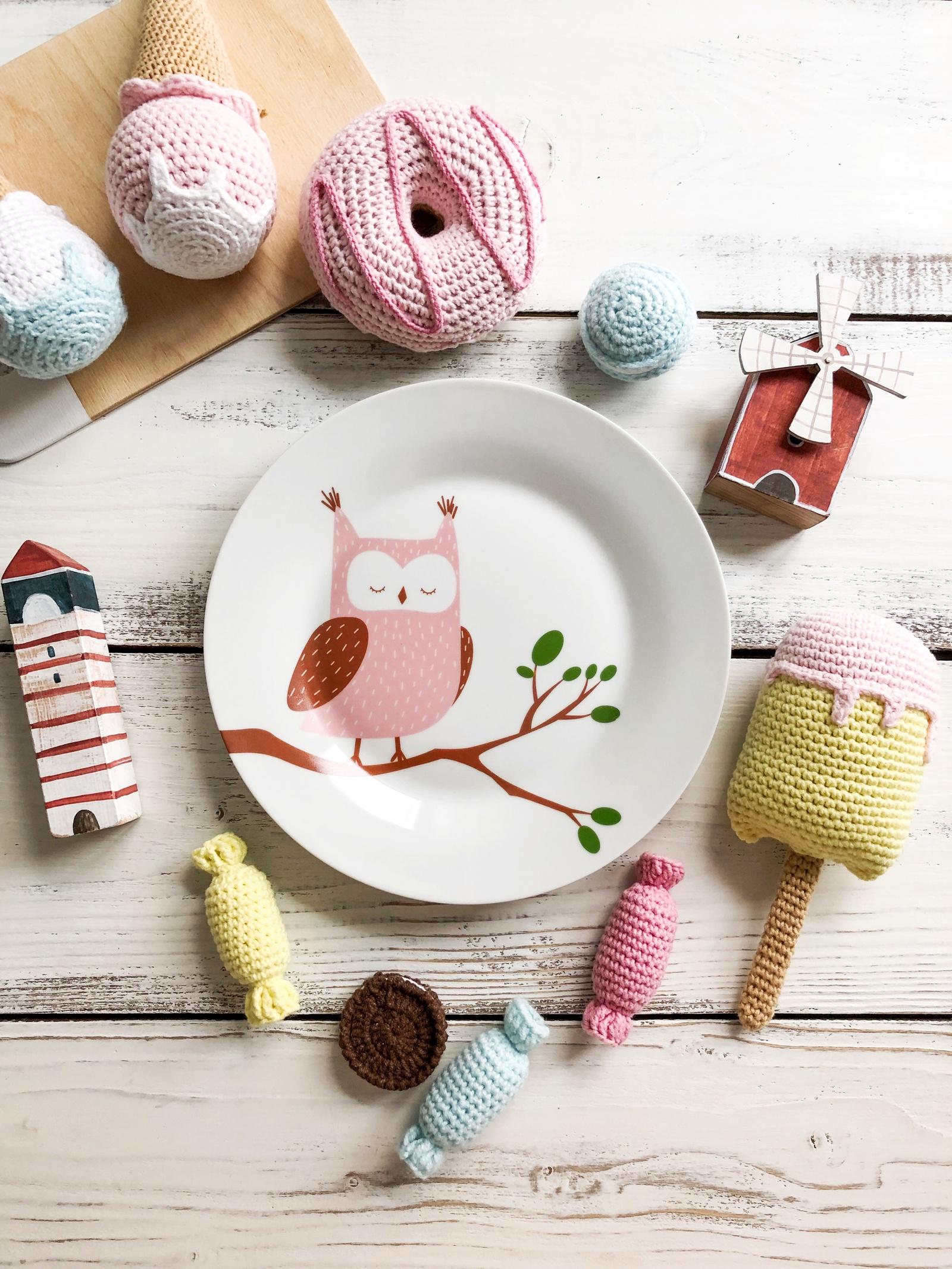 """Тарелка Сотвори Чудо Совуша 20 см, белый0031-00531-000Дизайнерская посуда от бренда """"Сотвори Чудо"""".Коллекция """"Зоопарк"""".Посуду можно использовать в микроволновой печи и мыть в посудомоечной машине.Произведено в России."""