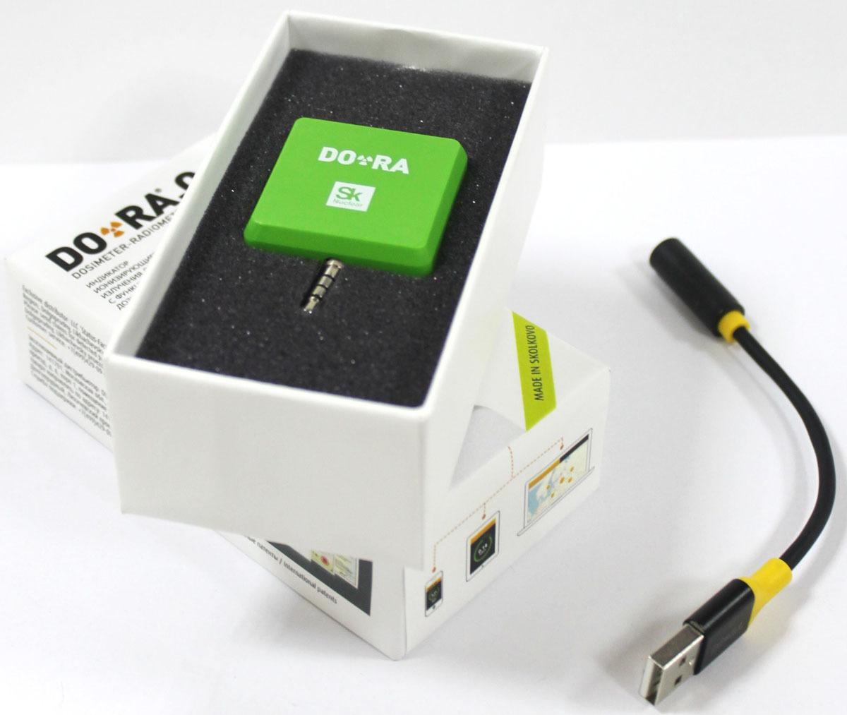 Дозиметр DO-RA, VDR-IRQ1801-green, зеленый DO-RA