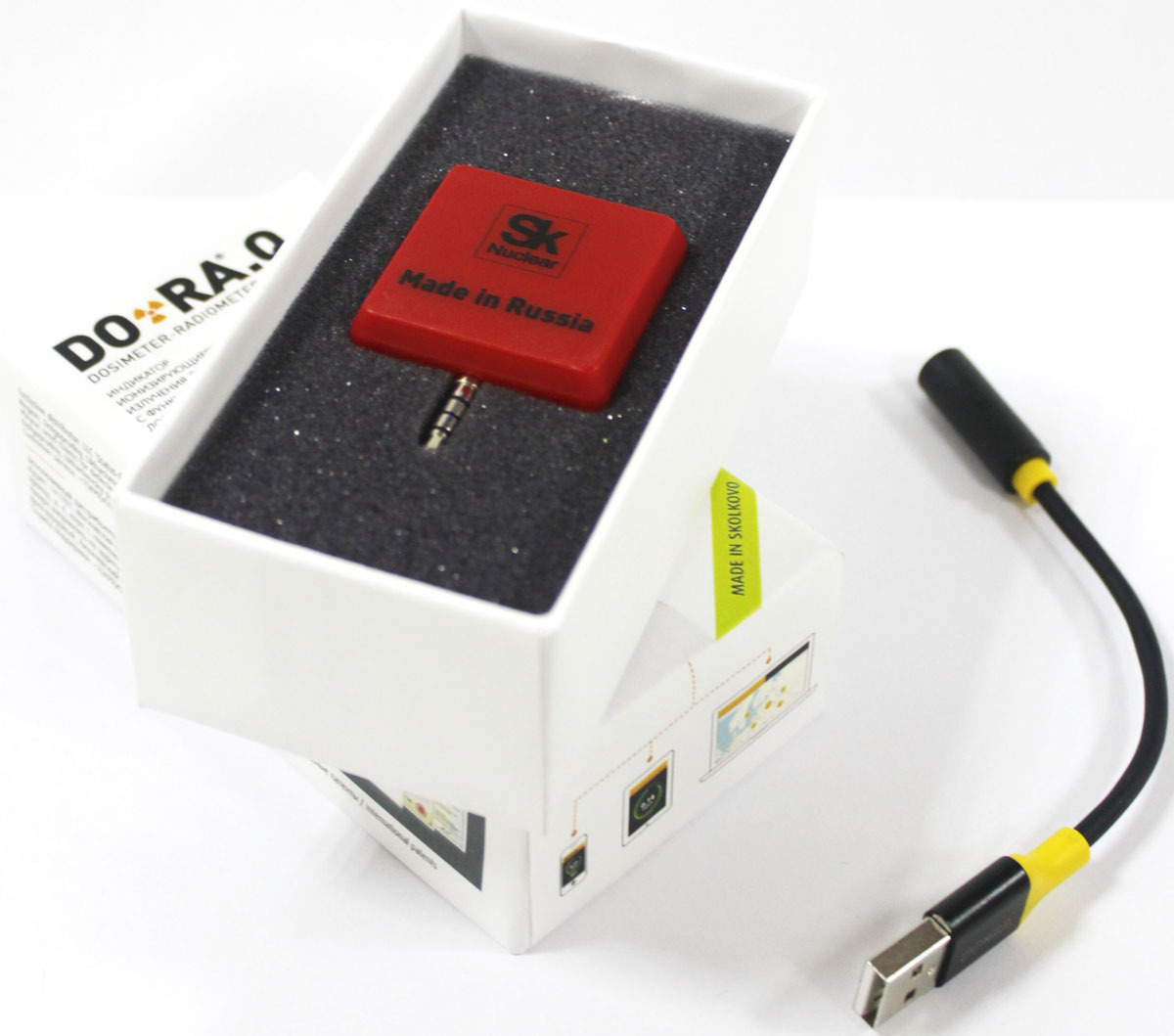 Дозиметр DO-RA, VDR-IRQ1801-red, красный DO-RA
