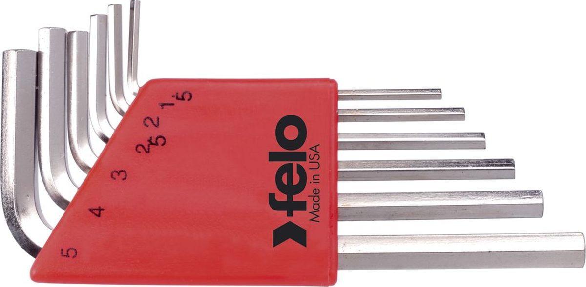 Набор ключей Felo, шестигранных, с шаровым окончанием, 6 шт