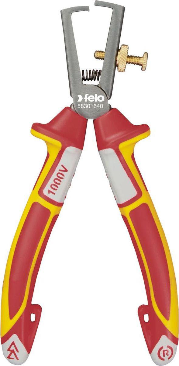 Клещи для снятия изоляции Felo, диэлектрические, 16 см