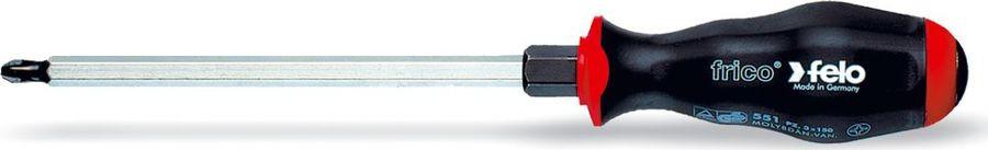 Отвертка Felo, крестовая, ударная, PZ1, длина стержня 9 см