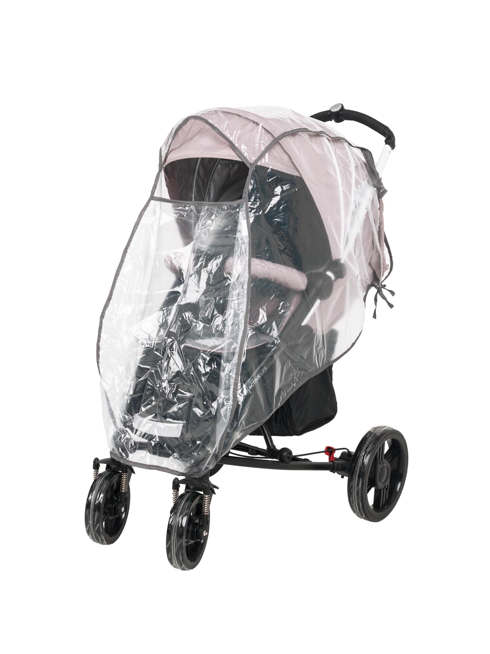 Аксессуар для колясок Trottola Дождевик на большую прогулочную коляску TRAVEL BIG прозрачный цена