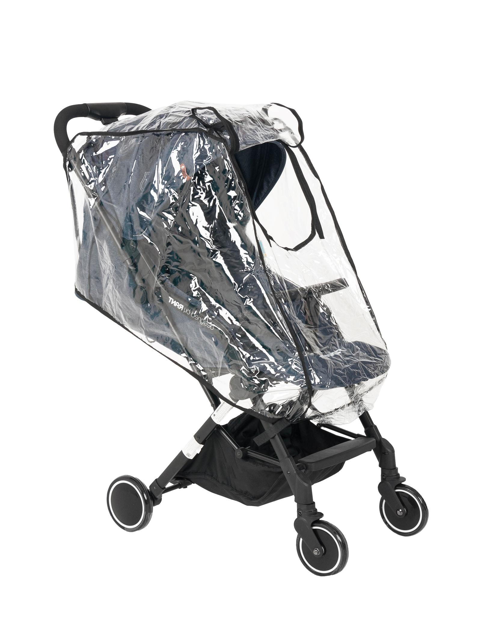 комплекты в коляску Аксессуар для колясок Trottola Дождевик на коляску трость TRAVEL PLUS прозрачный