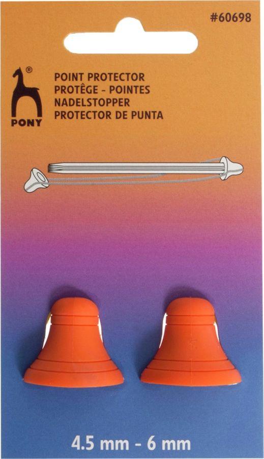 Наконечники для спиц Pony, 60698, разноцветный, 2 шт